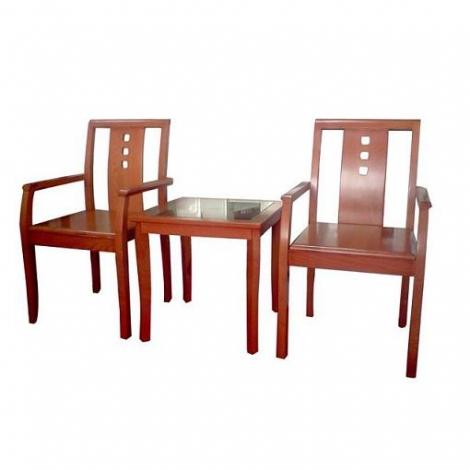 Bàn ghế khách sạn Hòa Phát GKS02 + BKS02