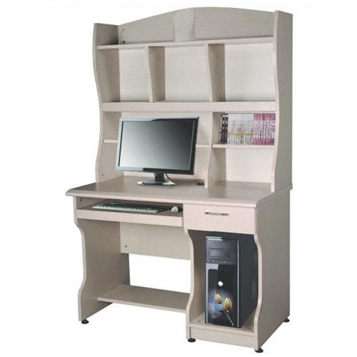 Bàn máy tính khung gỗ Hòa Phát liền giá ATB01