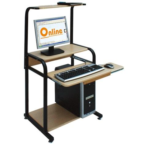 Bàn máy tính khung sắt Hòa Phát BMT05