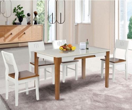 Bộ bàn ghế ăn Hòa Phát HGB67B, HGG67