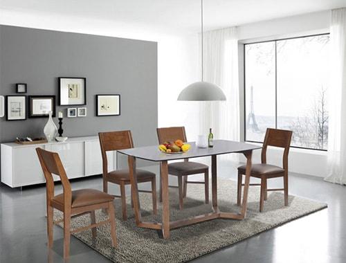 Bộ bàn ghế ăn HGB69B, HGG69