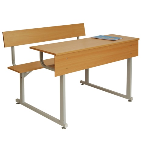 Bộ bàn liền ghế có tựa BSV103T