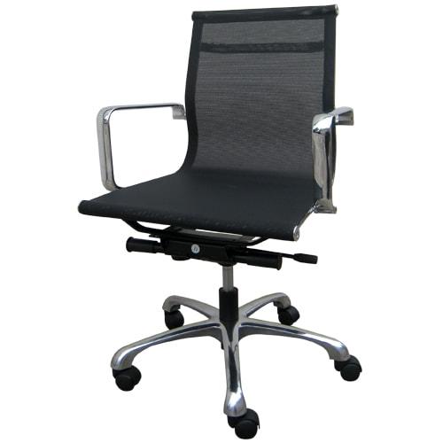 Ghế xoay văn phòng chân inox