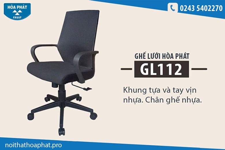 Ghế lưới cao cấp Hòa Phát GL112