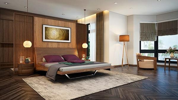 Thi công vách cách âm phòng ngủ với tường có sẵn