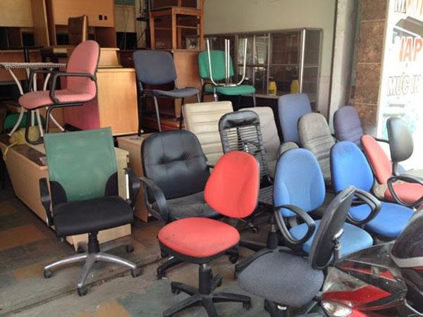 Mua ghế xoay văn phòng cũ thanh lý và những điều cần biết
