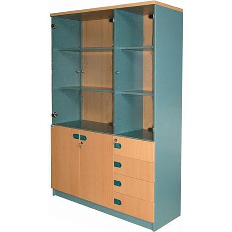 Tủ gỗ cao Hòa Phát SV1830-KG/4D