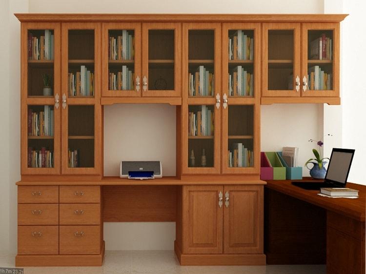 Gỗ HDF được ứng dụng phổ biến để chế tạo tủ hồ sơ văn phòng