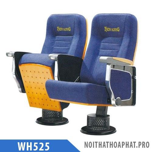 WH525 - Ghế hội trường chân trụ, khung gang đúc, không có bàn viết